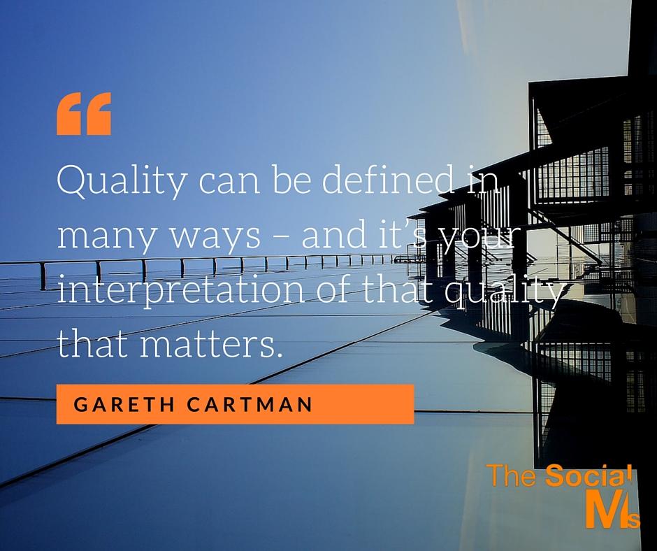 Quality Gareth Quote