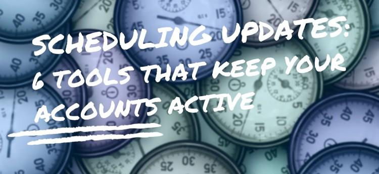 Scheduling Updates-