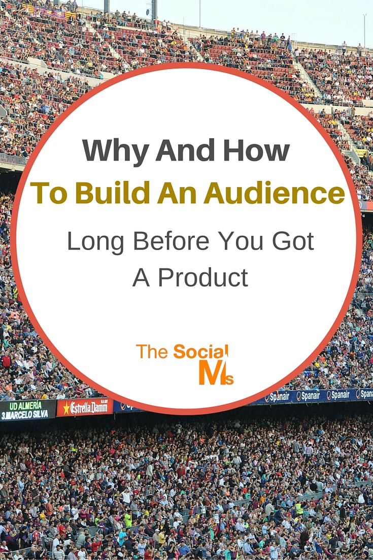 The best time to start to build an audience is when you decide to become an entrepreneur, a founder, start a company or need to market a product.