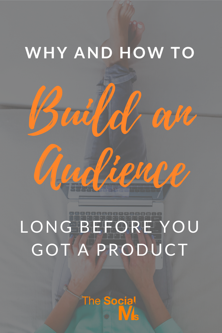 Social media marketing success comes with an audience. You need to grow this audience over time. Here are some ideas for you to build an audience, before you have your product. #audincebuilding #blogaudience #socialmediaaudience #socialmedia #socialmediatips #socialmediamarketing #smallbusinessmarketing