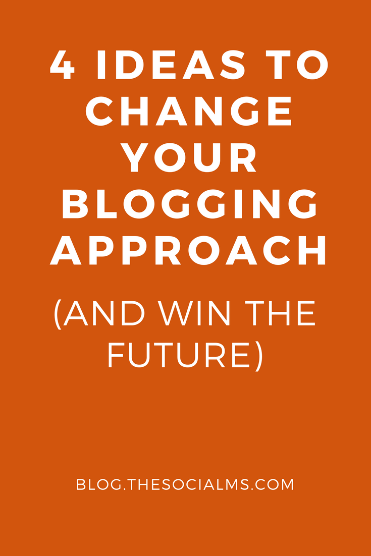 Blogging in 2016? You must not try to achieve success with the same approach as you would have in 2006. Here are some ideas for you! blogging tips, blogging strategy, blog marketing