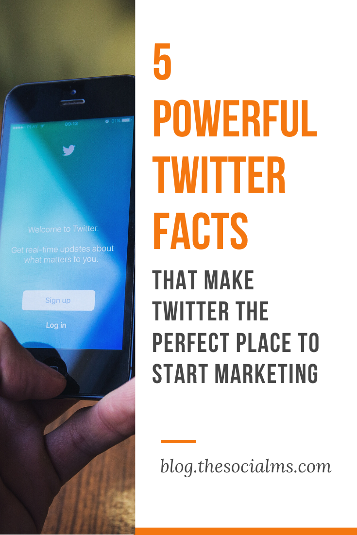 Here are five Twitter facts that make Twitter one of the most powerful social networks for marketing. When you are new to the online marketing game, Twitter can give you awesome results. Learn how. #twitter #twittermarketing #twittertips #socialmediamarketing #socialmediatips #smallbusinessmarketing #startupmarketing