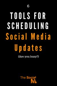 Scheduling often makes the difference between being on social media and having success with social media marketing. Here are 6 tools to help you keep your social media accounts busy. #scheduling #socialmediatools #bloggingtools #socialmediascheduling #socialmedia #socialmediatips