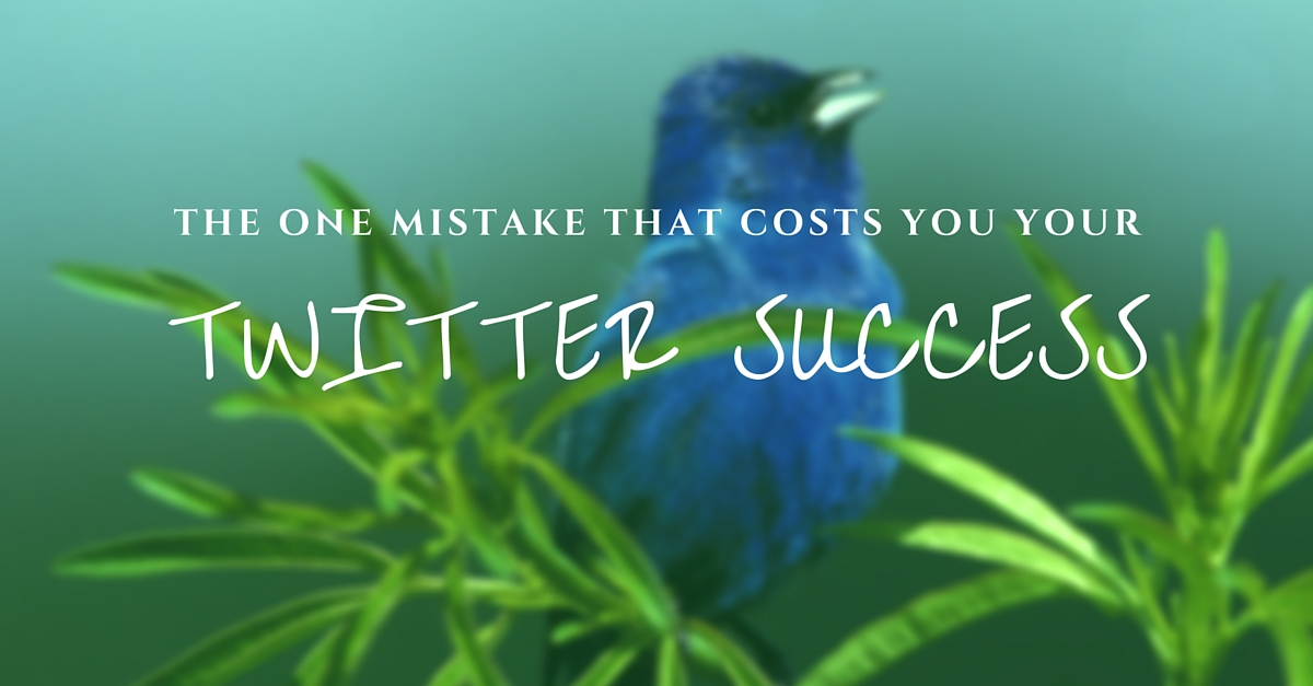 blog.thesocialms.com - Susanna Gebauer - The One Mistake That Costs You Your Twitter Success