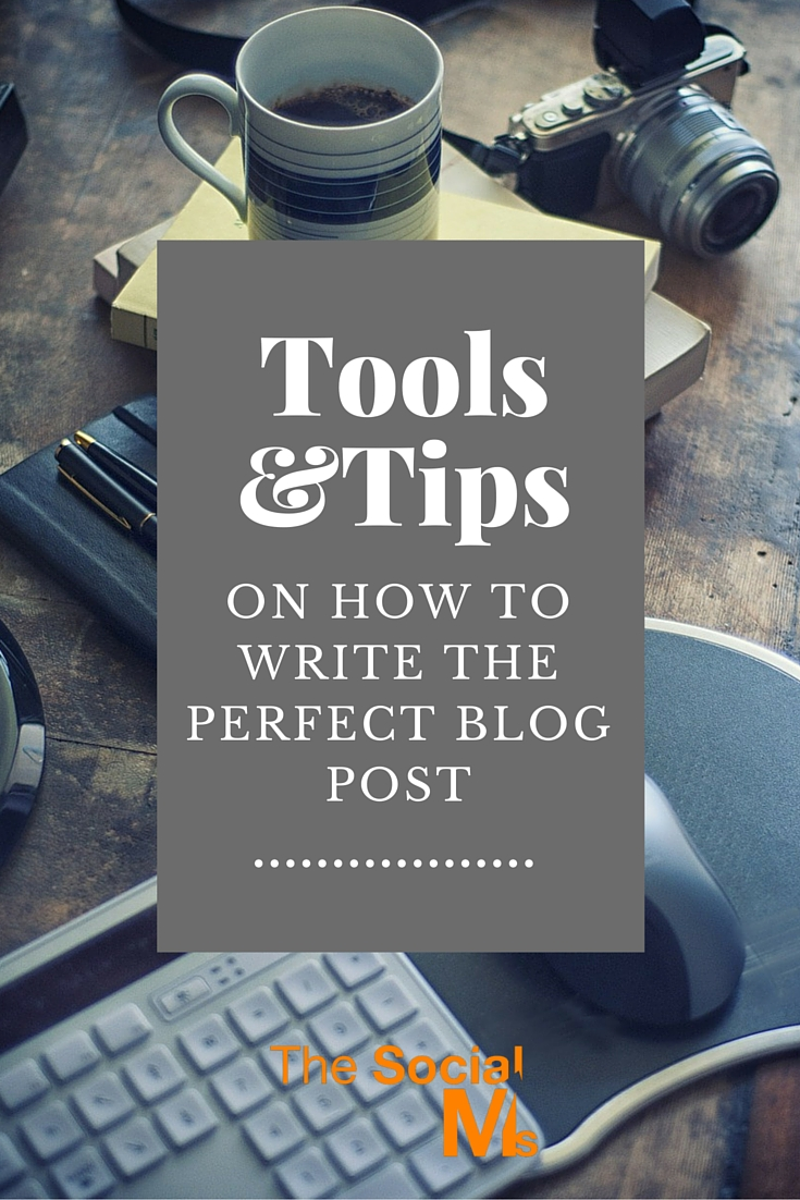 Tips for writing a blog post