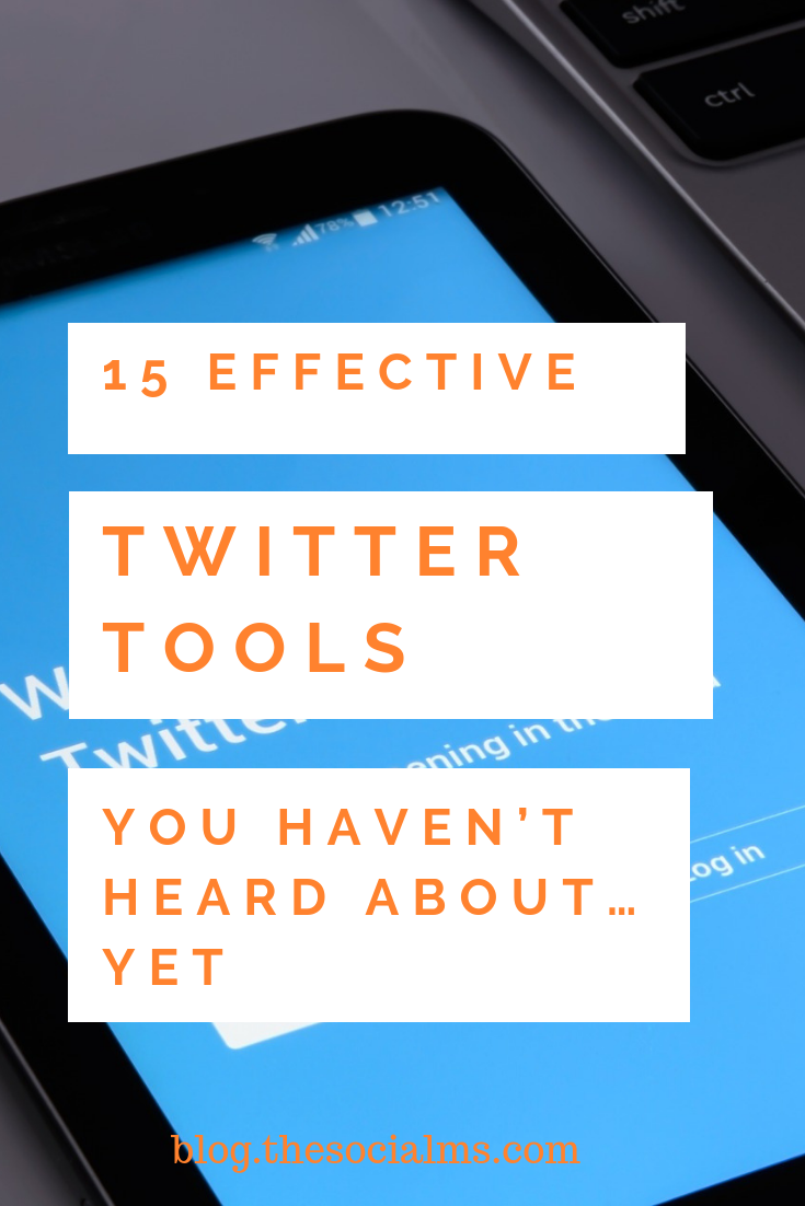 there are more Twitter tools you probably do not know yet, and these tools can make your Twitter life much easier. Here are 15 tools you have not heard about, yet. #twitter #twittertools #twittertips #twittermarketing #twitterautomation #twitterstrategy