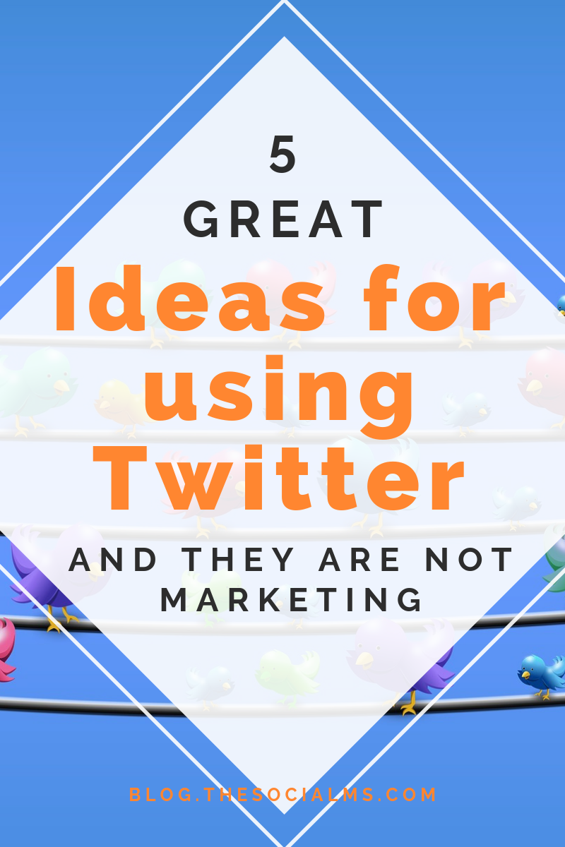 You do not have to do marketing to profit from using Twitter. Twitter can be a lot of fun and your business can profit from using Twitter even if you are not promoting anything on Twitter. #Twitter #Twittertips #usingTwitter #Twitterusecase #Twitterexample