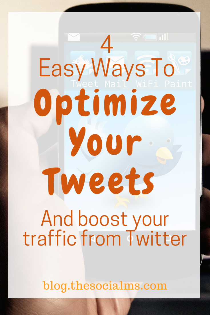 Are you not getting the engagement and traffic from your tweets that you are hoping for? Maybe you are missing out on the best ways to optimize your tweets for better results! #twitter #twittertips #optimizetwitter #twittermarketing #trafficfromtwitter #twitterstrategy