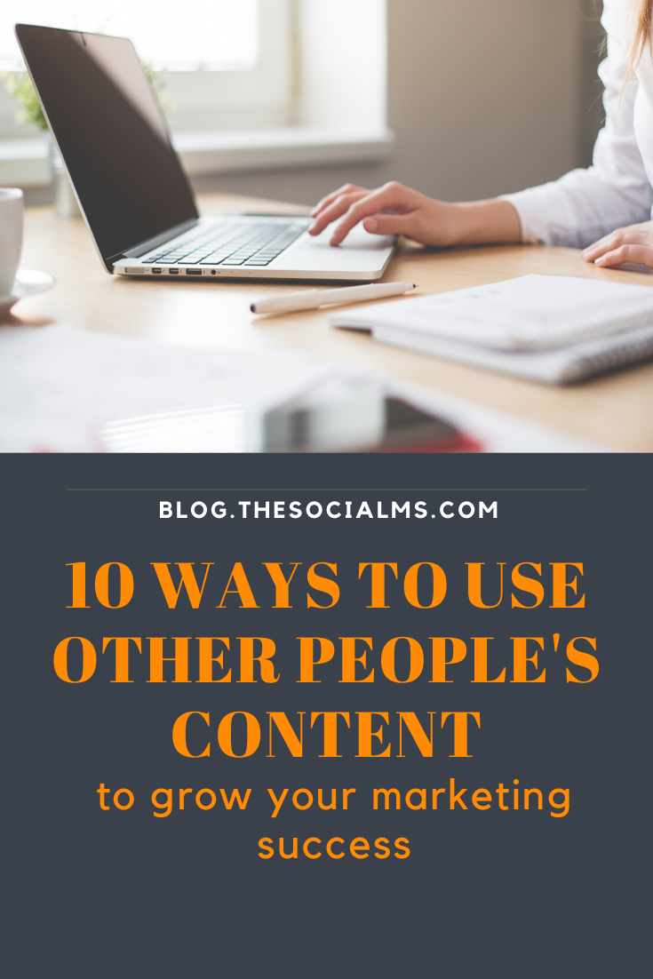 Content Curation is a valuable instrument in content marketing and social media. But for many people, it is not clear what content curation is. here is my list of 10 things content curation can do (or not do) for your business. #contentcuration #contentmarketing #audiencebuilding #smallbusinessmarketing #startabusiness