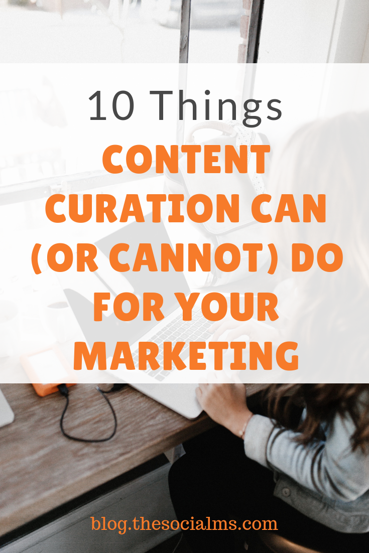 Content Curation is a valuable instrument in content marketing and social media. But for many people, it is not clear what they can achieve with content curation. #contentcuration #contentmarketing