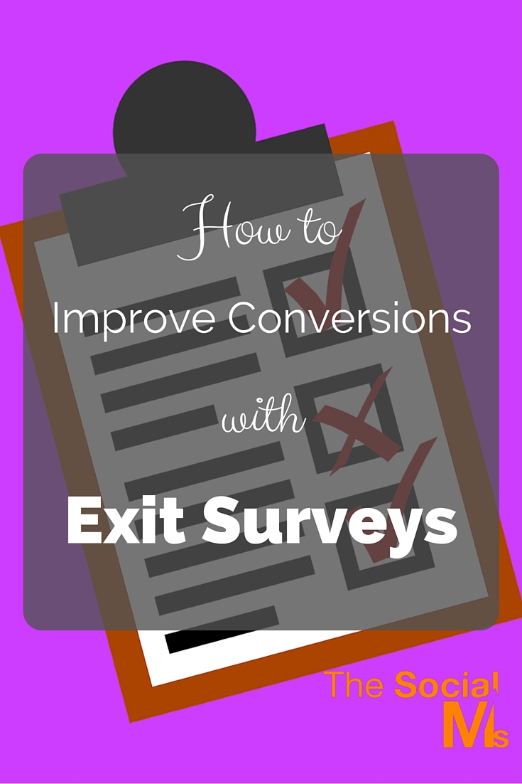 With the help of exit surveys, brands are hoping to overcome conversion bottlenecks. Exit surveys have long been untapped but are often used wrong.