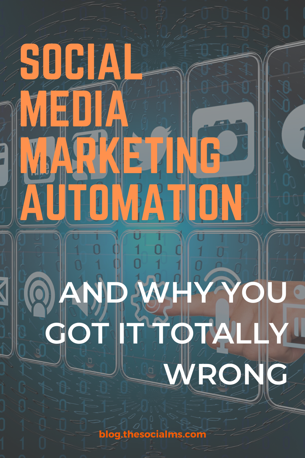 Social media marketing automation could be a good thing. Here is what you need to know to use automation to grow your business #socialmedia #marketingautomation #socialmediatips #socialmediamarketing #marketingstrategy