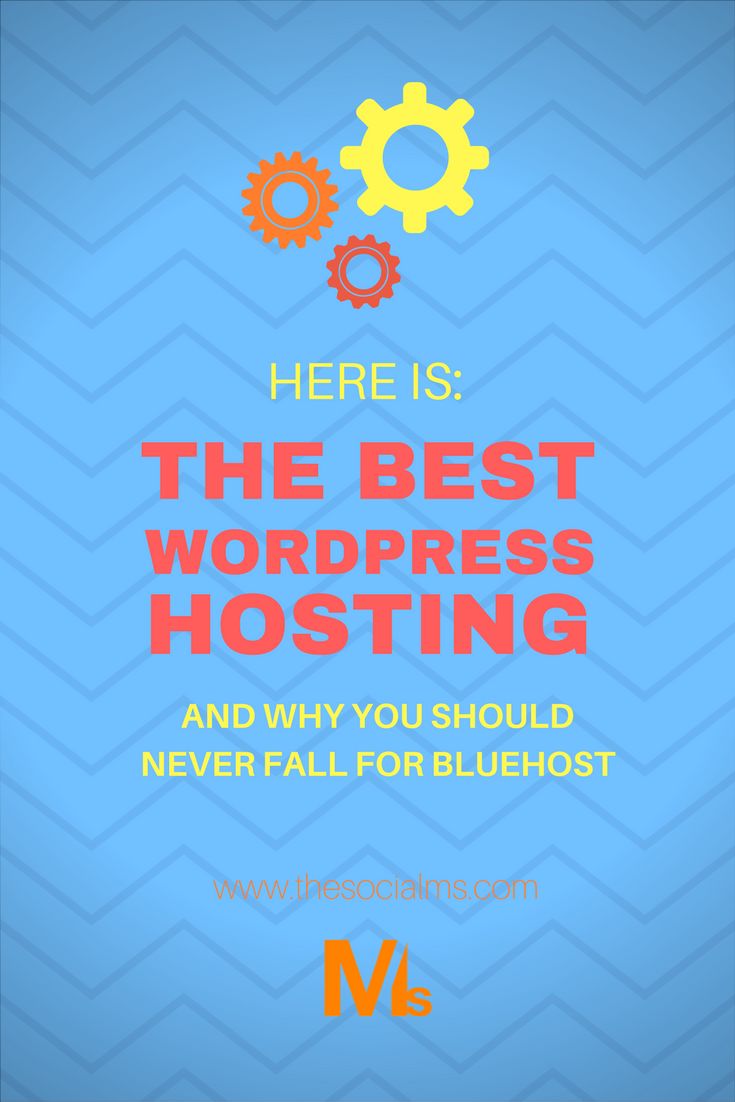 Finding the best WordPress hosting service isn't easy - because a lot of sites are recommending Bluehost and similar services. You should never fall for these! Cloudways is an awesome hosting service that is just as affordable, has very fast servers, and a support service that never leaves you alone! #WordpressHosting #Webhosting #BestWordpressHost