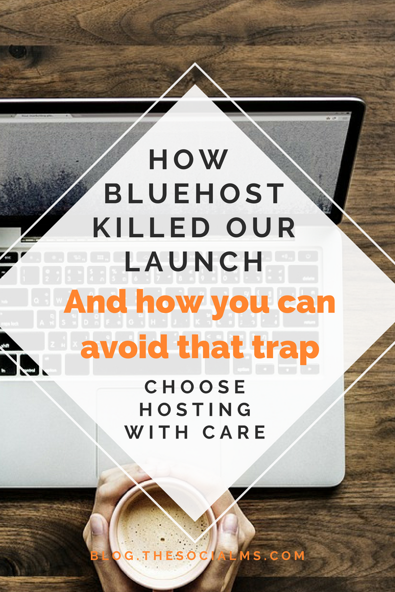 "Until recently we hosted all our sites on Bluehost - and Bluehost provided an atrocious customer experience for us. The situation became so bad that our sites were becoming so slow that clients complained ""that our site was loading as slow as they would expect if we had the early 90s and we are surfing via a slow modem."" #bloggingtips #bloggingforbeginners #startablog #bloghosting #onlinebusiness"
