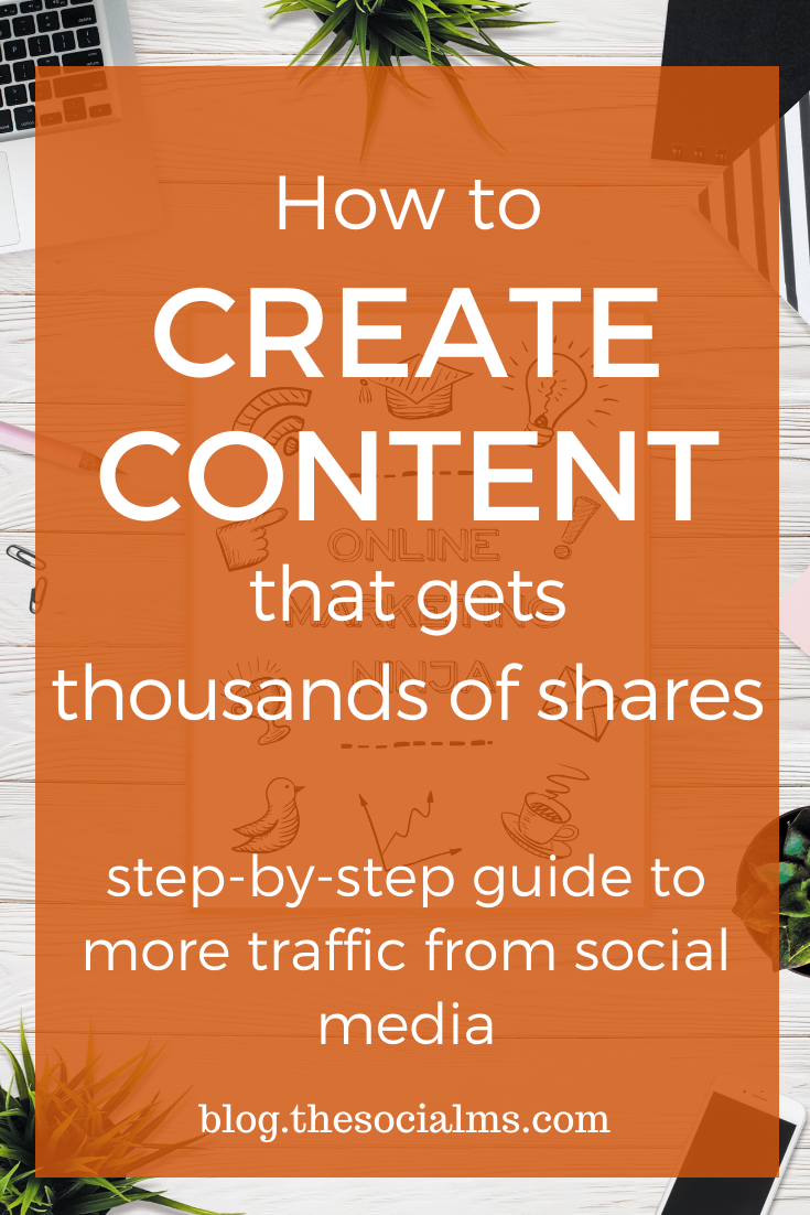 Social sharing allows your content to reach a wider audience and get more traffic. When people share your content, they are acting as your evangelist. But people don't share any kind of content. here is the ultimate guide to create content that gets thousands of social shares. #createdcontent #blogwriting #blogpostcreation #contentcreation #bloggingtips #contentmarketing #blogging101