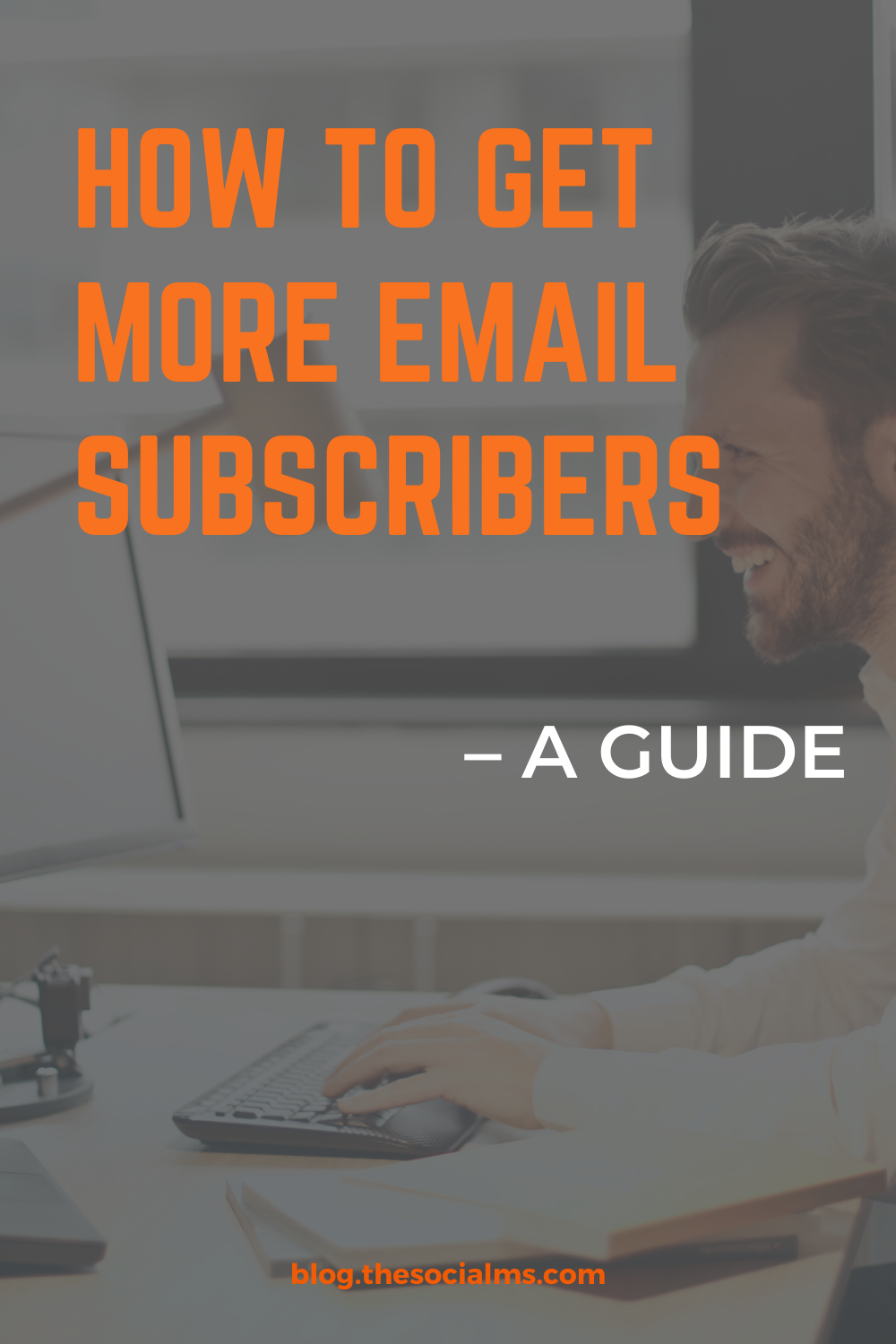 """""""Collecting new email subscribers"""" is an important part of online marketing - this post is a guide to teach you how to grow your list effectively and give you ideas to improve your conversion rate. #emailmarketing #listbuilding #emaillist #emailsubscribers #onlinebusiness #salesfunnel"""