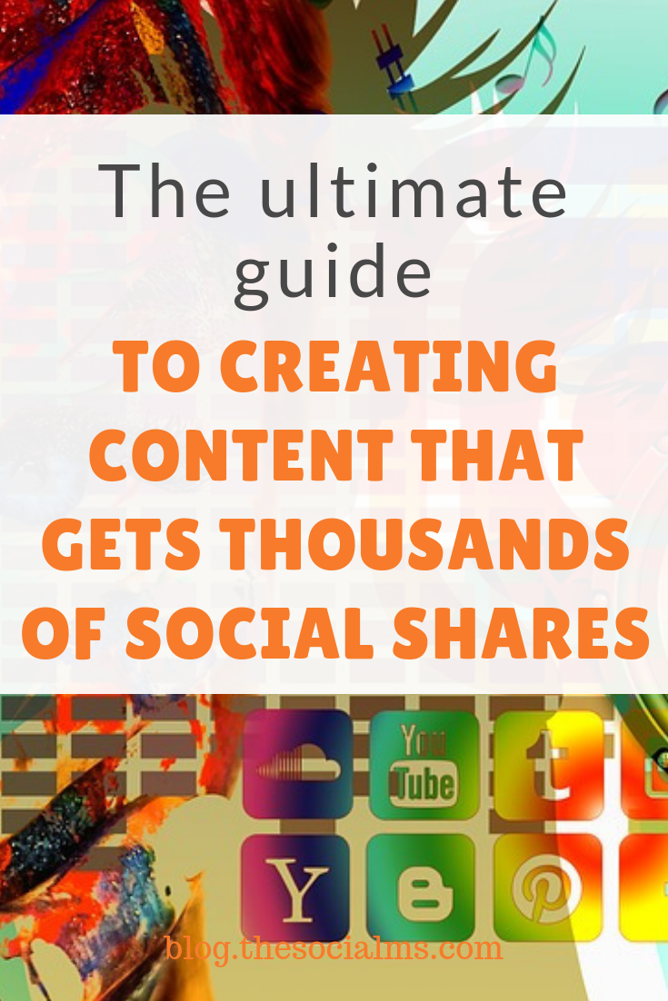 Shares on social media are an important factor to your traffic and audience growth. Here, you'll learn how to create the kind of content people love to share on their social media accounts. #socialmediamarketing #socialmediatips #socialmediagrowth #socialmediastrategy #socialshares