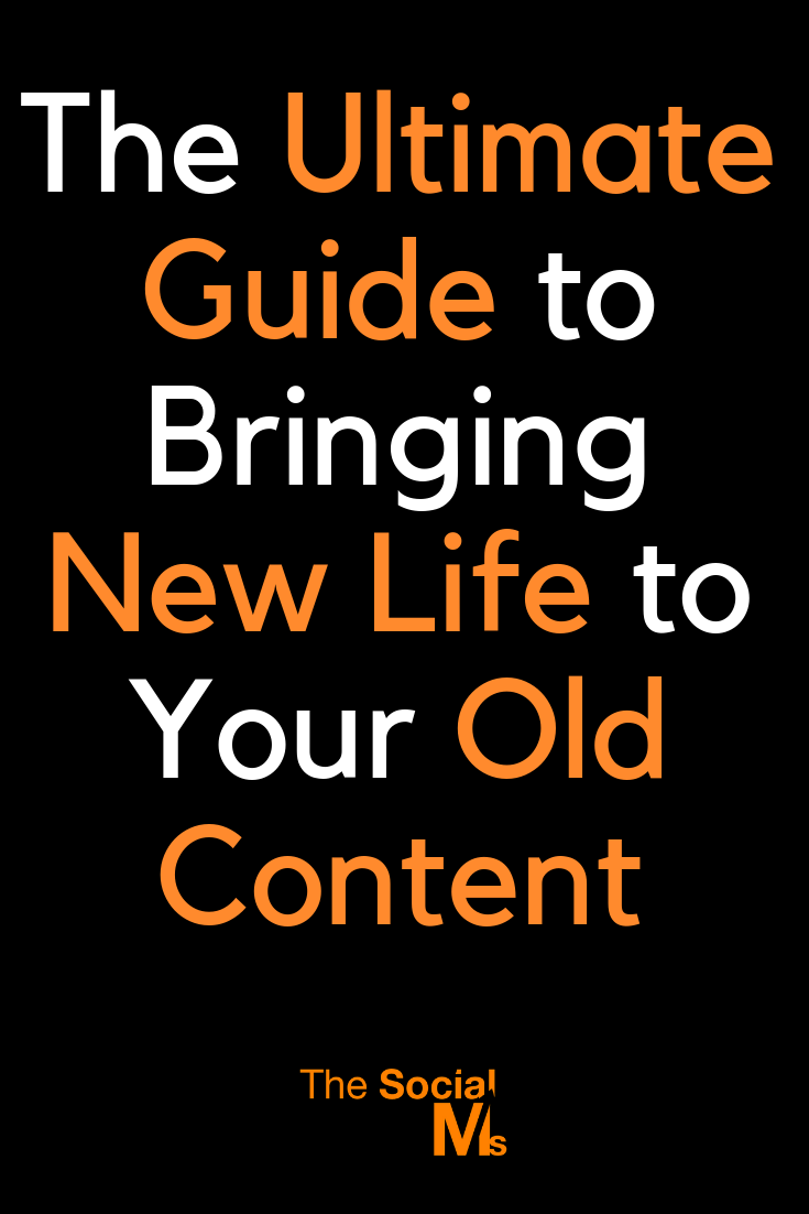Reusing or repurposing old content again has many advantages. Here are 10 ways you can bring new life to your old content. #contentmarketing #bloggingtips #blogcontent