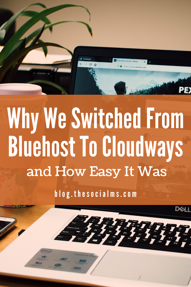 I'm going to tell you exactly how to perform the switch to hosting provider Cloudways step by step. #hosting #hostingprovider #bloghosting #bloggingtips #startablog #bloggingforbeginners