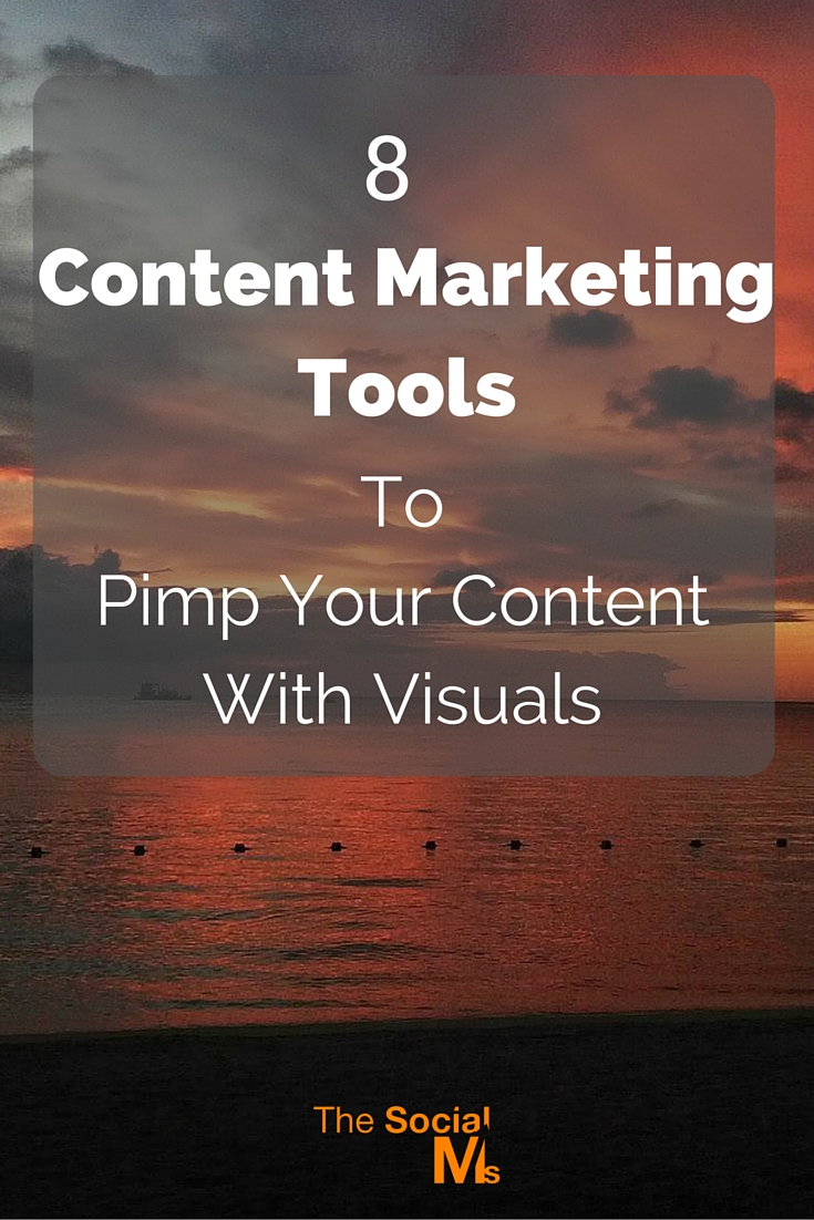 Visuals play an important role in content marketing. These outstanding content marketing tools help you create the visuals your content needs.
