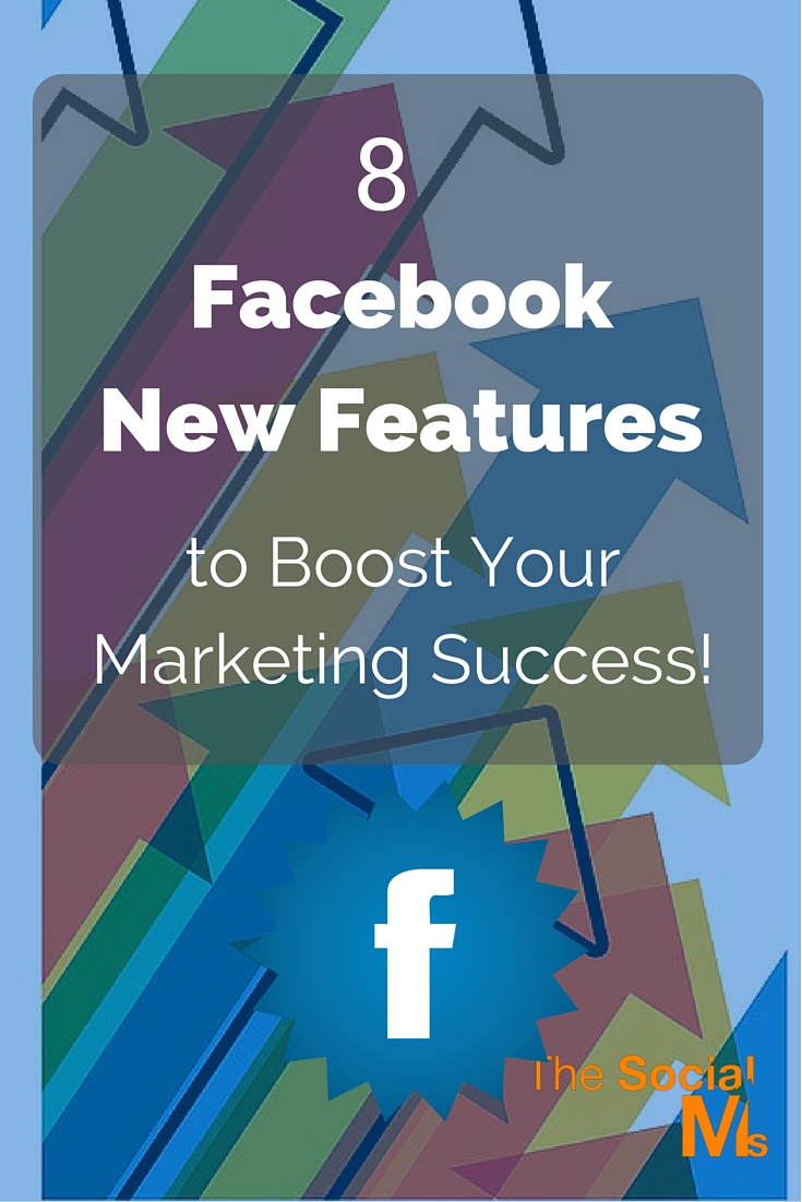 Facebook updates its features often. For Facebook marketing success, you should incorporate some of the Facebook new features into your marketing strategy.