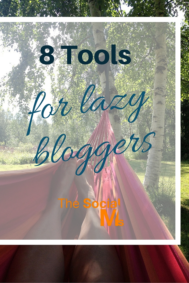 Eight tools for bloggers that give you more insight into the possible ways to write your blog and publish it successfully and still be lazy sometimes