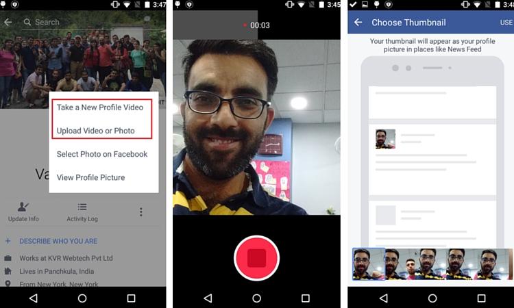 Facebook Video Profil