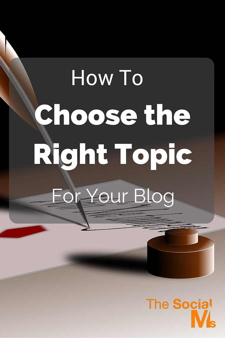 The longer you write your blog and analyze your readers, the easier it will be to come up with new ideas and find the right topic for your next blog post.