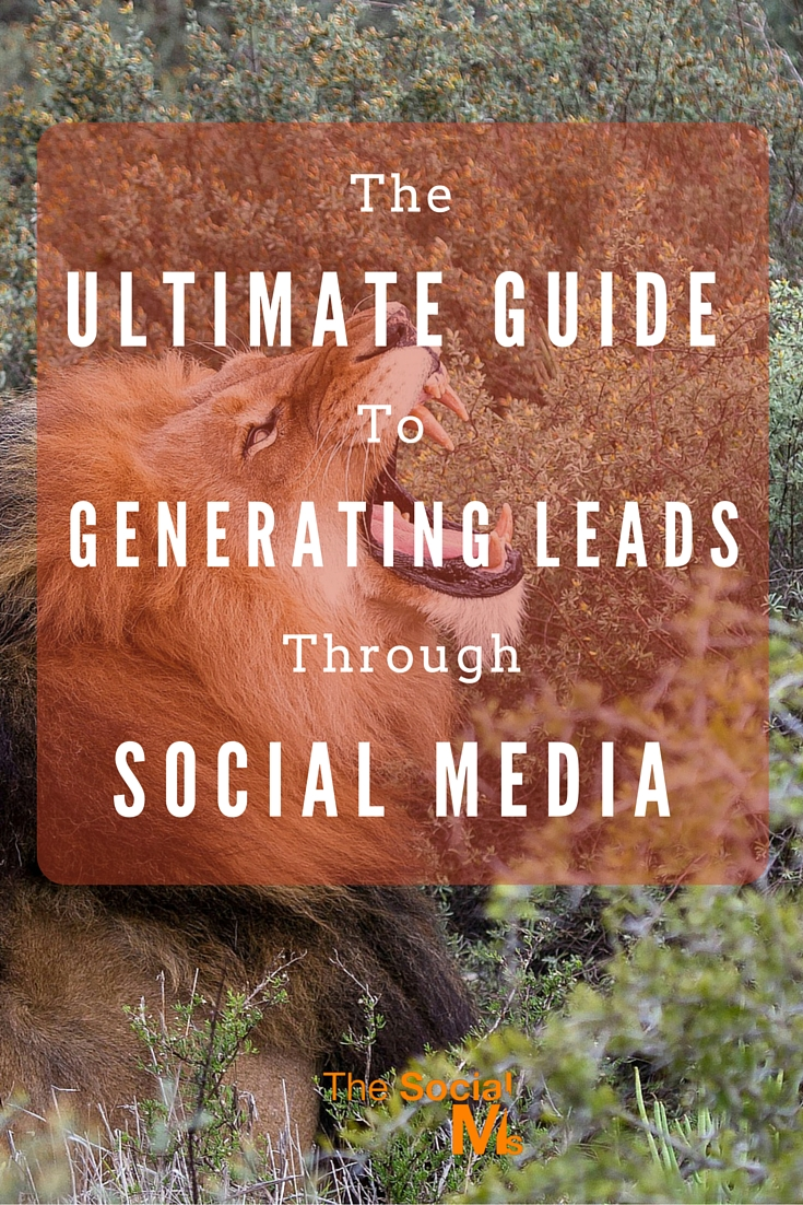 Social media is so amazing for reading the news, connect with friends and meet new people - and for generating leads. Here is how to get it right.
