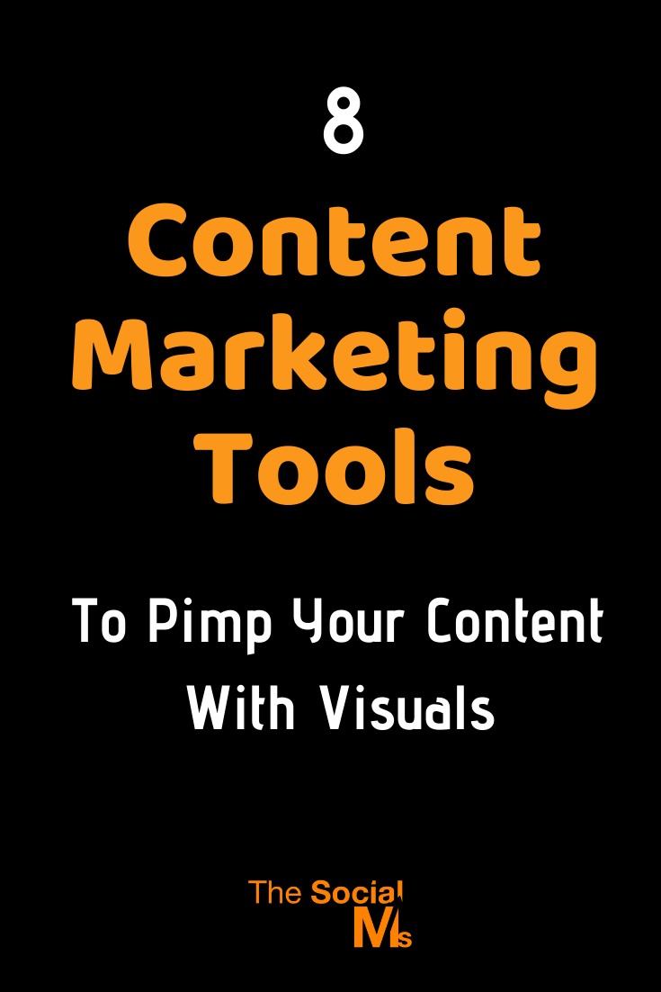 Visuals play an important role in content marketing. These outstanding content marketing tools help you create the visuals your content needs. #contentmarketing #contentmarketingtools #marketingtools #contentcreation #imagecreation