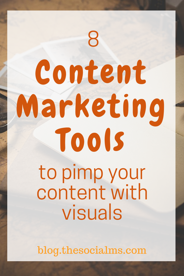 Make your content count by adding images for social media and for making your content easier to read and understand with these easy to use content marketing tools #contentmarketing #contentmarketingtools #onlinemarketingtools #contentcreation