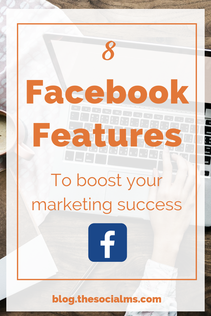 most marketers still make use of the standard features only. Here are Facebook features that you should know and put to use in your social media strategy. Boos your facebook marketing success with more creative marketing. #facebook #facebooktips #facebookstrategy #facebookfeatures