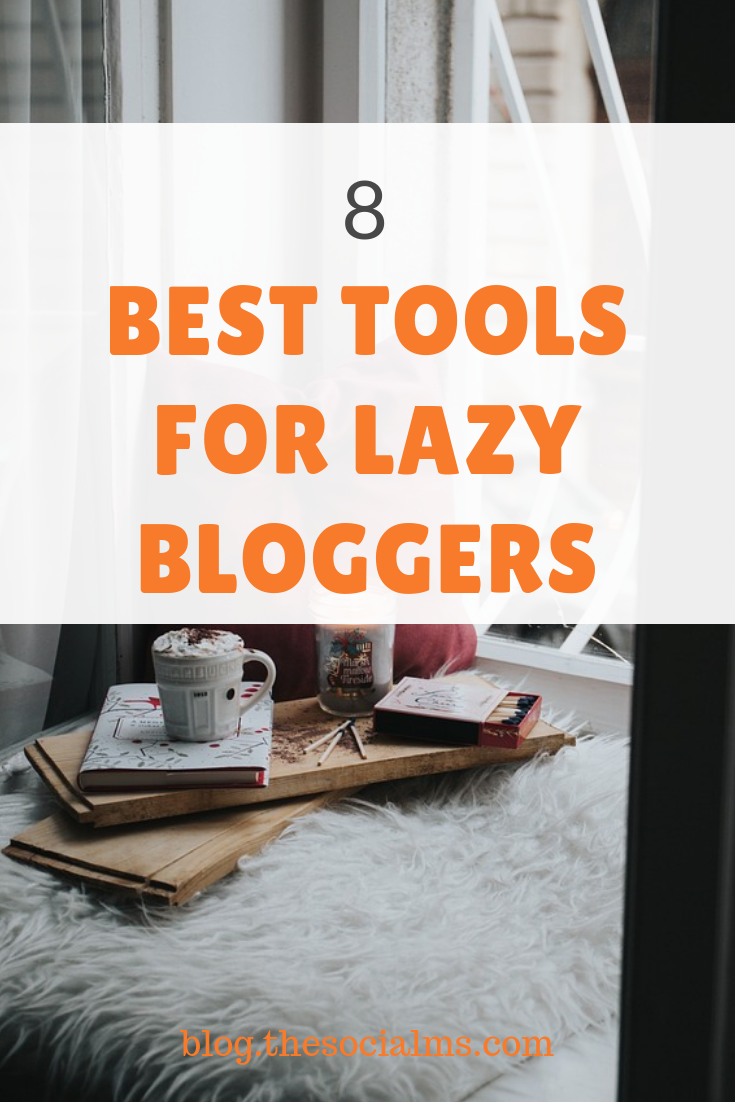 we all feel lazy sometimes when we have to write a blog. Here is the list of several tools which can help you with different areas of your blogging. Get more efficient with these blogging tools. #bloggingtools #bloggingtips #onlinemarketingtools #startablog #bloggingbusiness