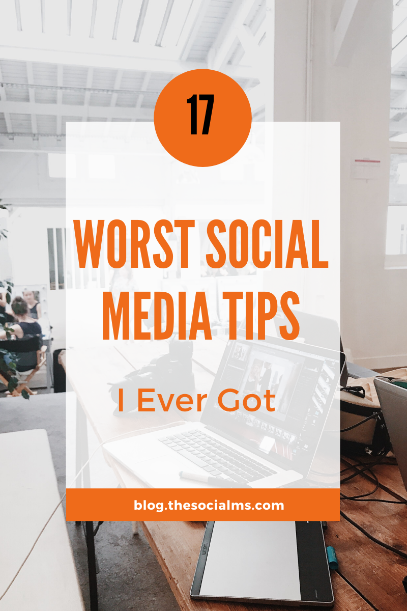 But between all the crazy, sometimes working and sometimes total screwed advice, there were some social media tips that are still floating around today, years after I first heard them. Somehow some so called experts keep these tips afloat and listening to them can easily break your social media efforts. #socialmedia #socialmediatips #socialmediamarketing #marketingmistakes