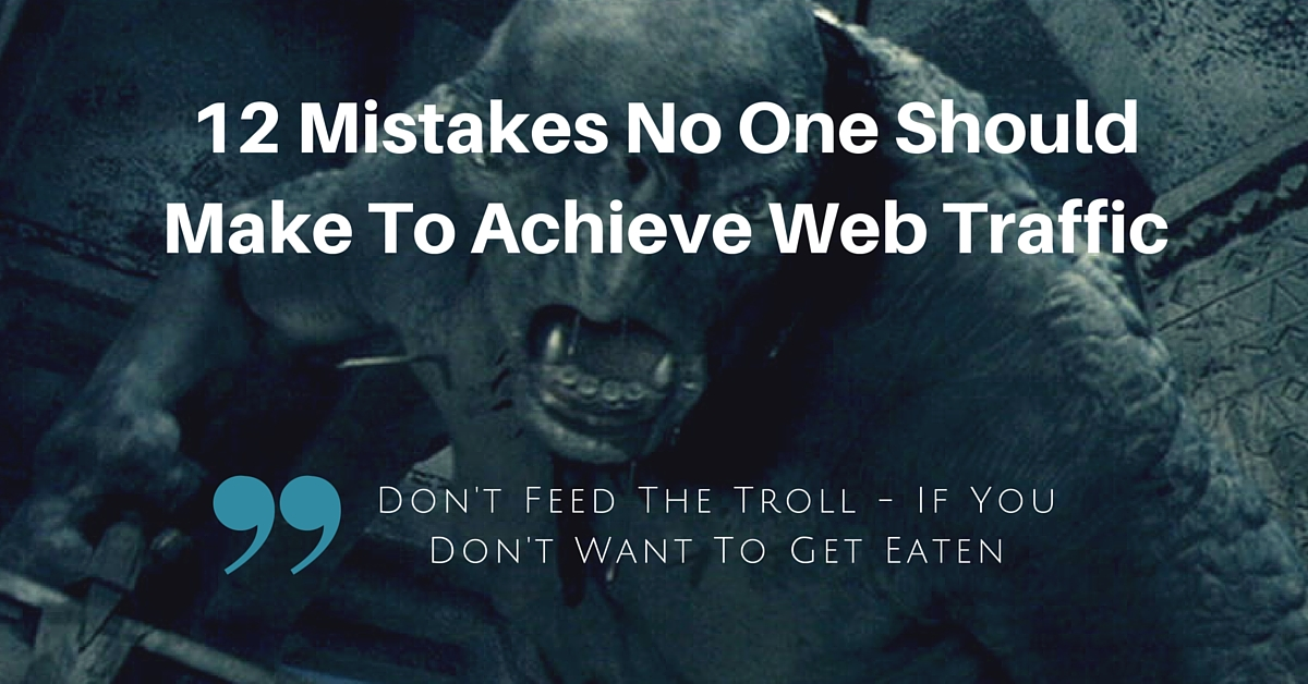 blog.thesocialms.com - Jonathan Gebauer - 12 Mistakes No One Should Make For More Web Traffic