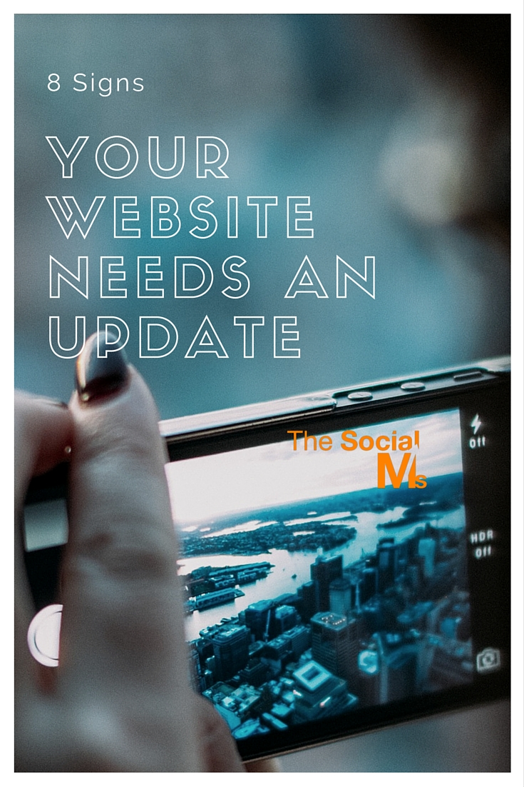 A website update can be a lot of work and expensive. Many of us find many reasons (any reason) to put it off. Here are signs you should have one right now.