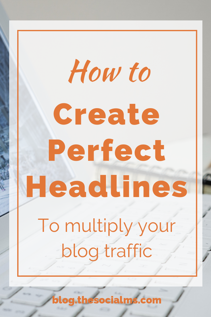 One headline can make or break the success of your content. Writing headlines can be learned, your marketing success will be proof of your skill. Perfect headlines have tremendous power and can easily multiply the traffic to your blog content and the shares you get on social media. #bloggingtips #blogtraffic #contentcreation #blogcontent #headlines