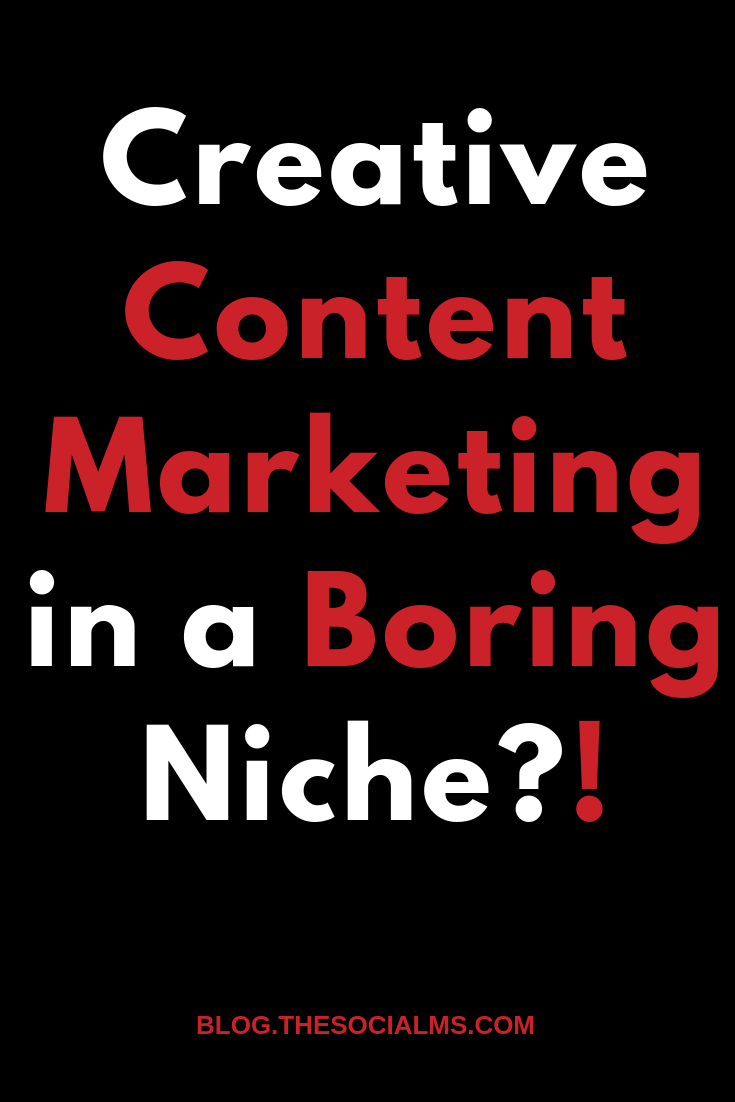 it's hard to come up with creative marketing when the product you sell is somewhat distasteful and certainly boring. But it can be done and here are the examples to prove it. #contentmarketing #contentcreation #creativecontent #digitalmarketing #onlinemarketing