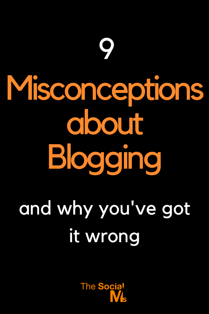 here are some of the misconceptions about blogging, which can easily lead your blogging efforts to failure. #bloggingtips #startablog #bloggingforbeginners #blogging101 #bloggingsuccess #bloggingbusiness