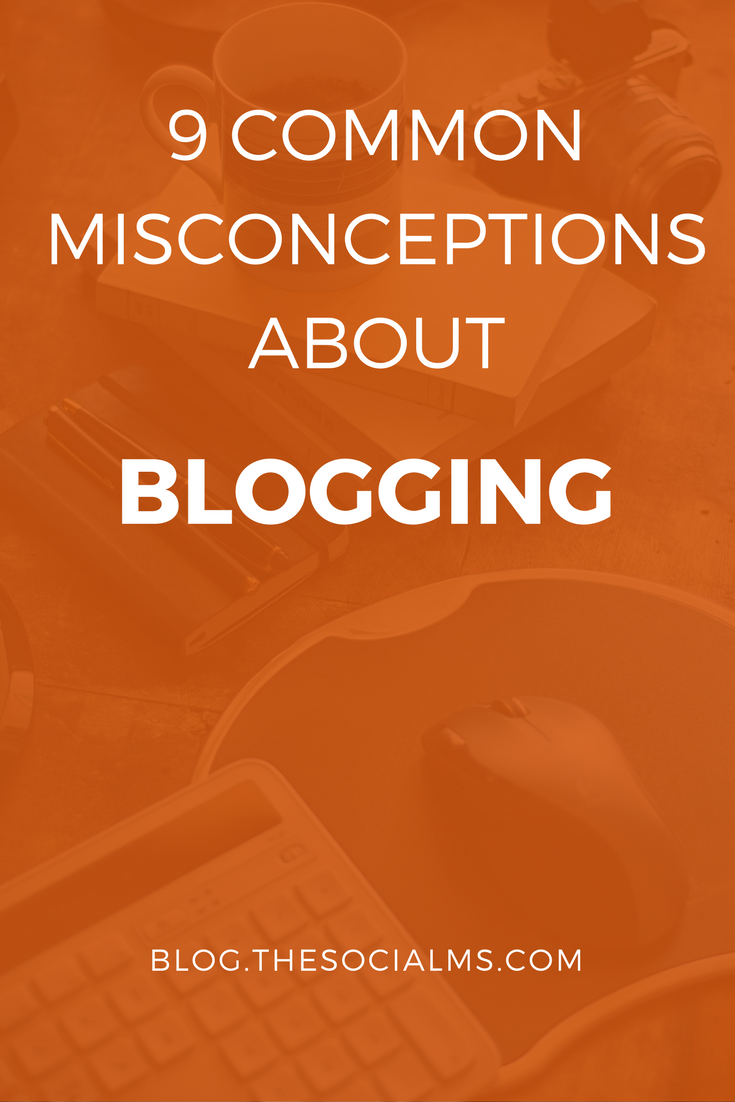 Here are some of the misconceptions about blogging, which can easily lead your blogging efforts to failure. Do not make them! blogging tips, blogging advice