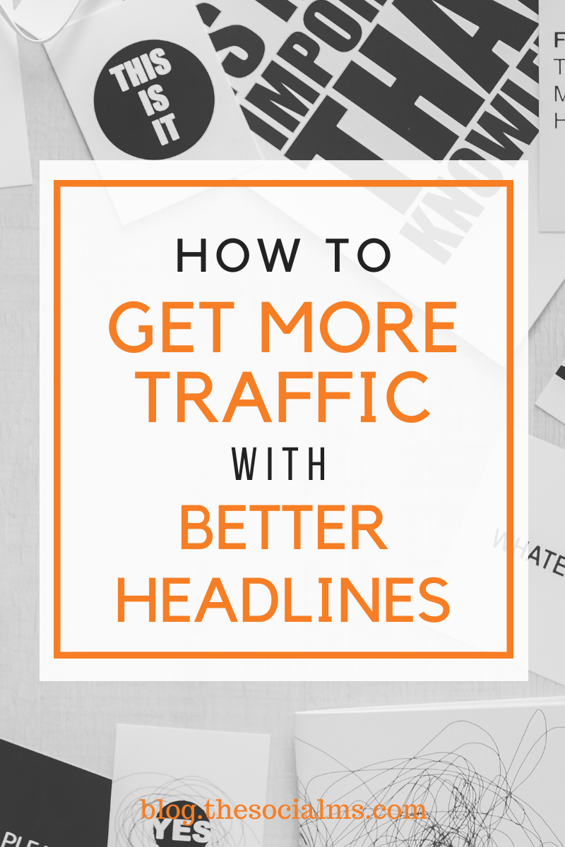 Often it is not the content itself that decides whether you are getting the traffic success you are looking for. Since most people at first only see the headline, most of the time it is the headline that decides if you get blog traffic or not. #blogtraffic #trafficgeneration #blogwriting #headline #blogpostcreation #contentcreation #contentmarketing