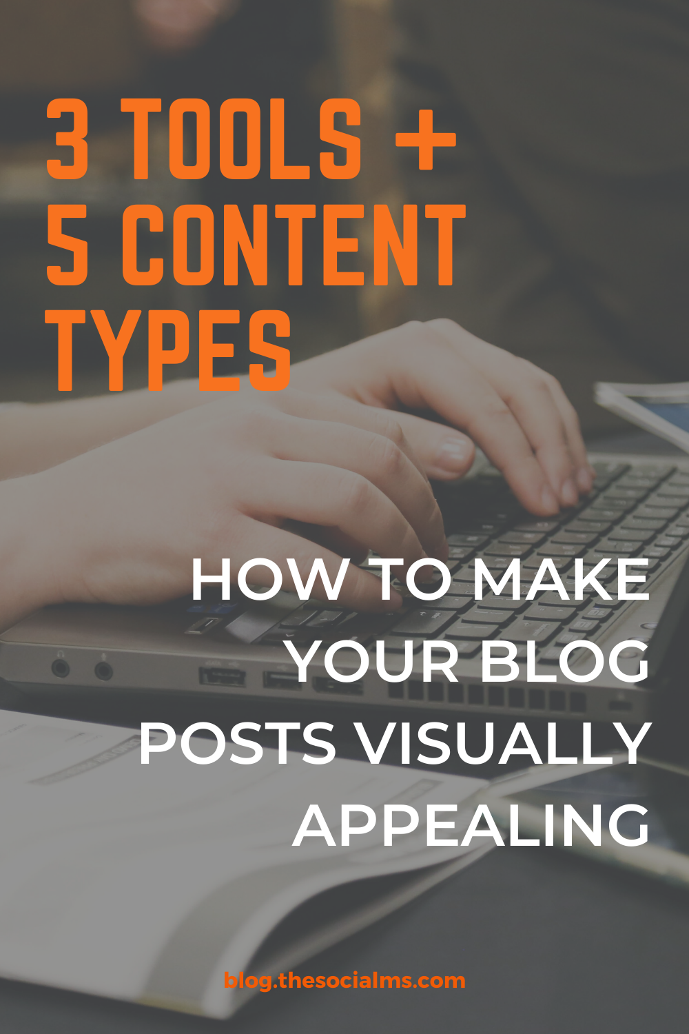 There are basically 5 types of graphic content that make sense to add to your blog posts. And here are also 3 tools to help you create these images. #blogpostcreation #blogwriting #contentcreation #conetntmarketing #bloggingforbeginners #blogging101 #bloggingtips