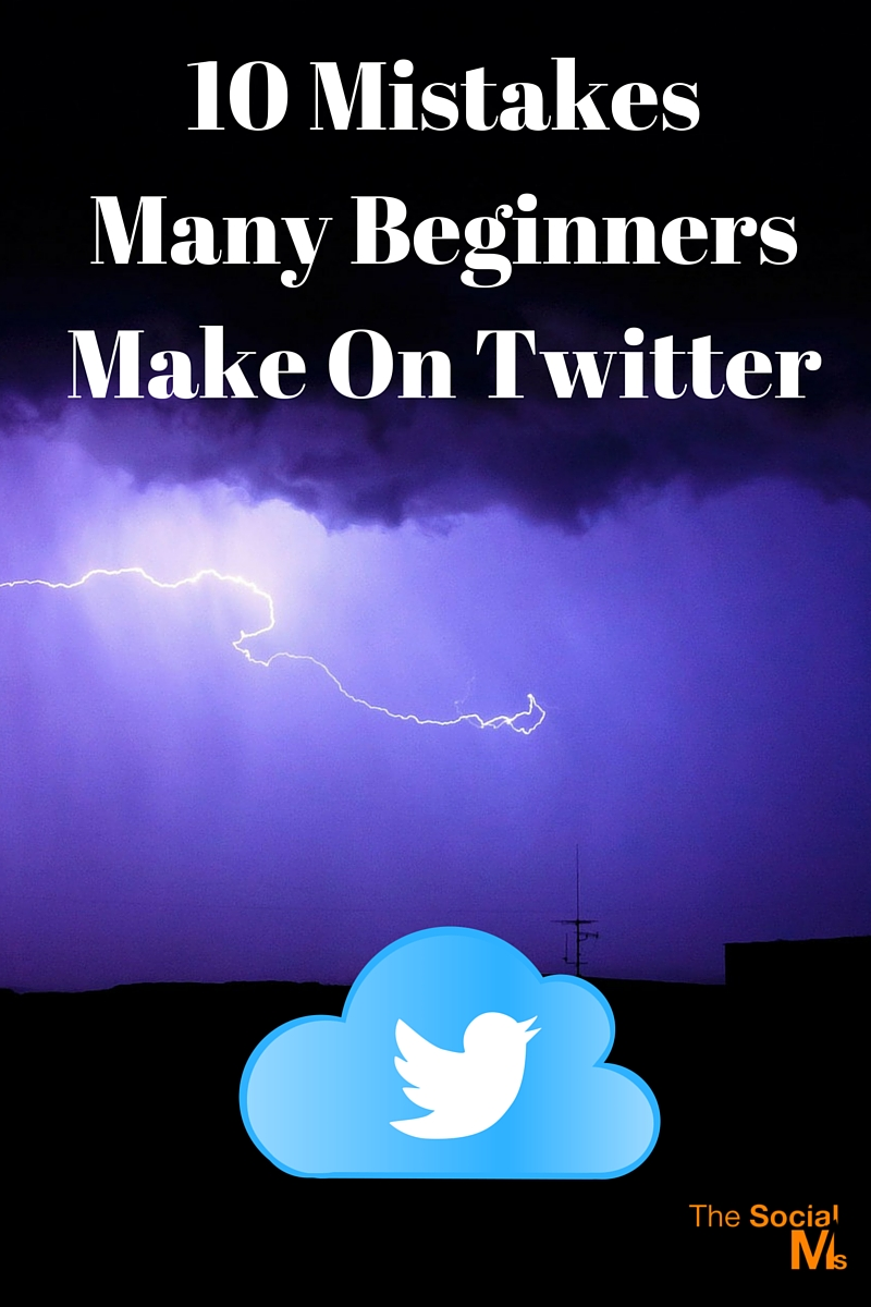 There are many mistakes you can make with Twitter. And these Twitter mistakes can easily lead to frustration and lack in positive results.