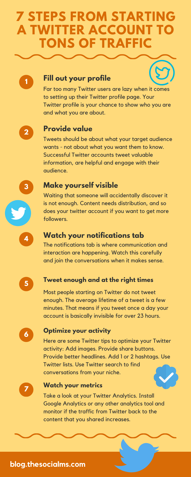Generating traffic to a website is one way of being successful with Twitter. And here are the necessary steps you need to take to get there. #witter #twittertips #twittermarketing #twitterstrategy #blogtraffic #trafficgeneration