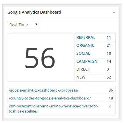 Essential WordPress Plugins - Google Analytics Dashboard for WP