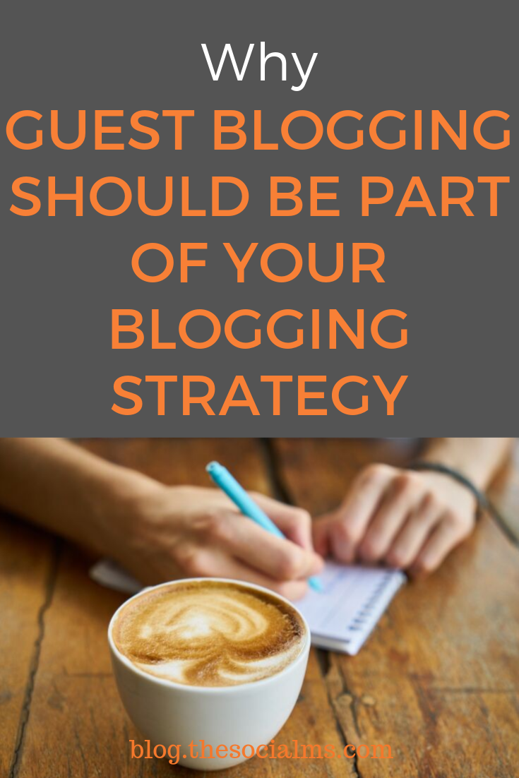 Guest blogging is a very powerful strategy to grow your blog or business. Learn how to use guest blogging to boost your blog. #bloggingtips #guestblogging #bloggingstrategy #bloggingtactic