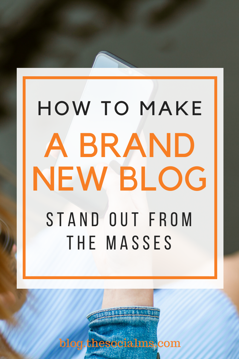 Boosting a new website is not an easy task, especially since blogging competition is fierce, including hundreds of thousands of competitors in any niche. Here is how to make your brand new blog stand out. #bloggingtips #blogging101 #bloggingforbeginners #startablog #bloggingsuccess #newblog #newblogger