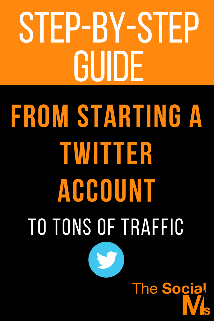 Generating traffic to a website is one way of being successful with Twitter. Here is a step-by-step guide to start your Twitter account and turn it into your best traffic source. #twitter #twittermarketing #twittertips #trafficgeneration #blogtraffic #smallbusinessmarketing #startupmarketing