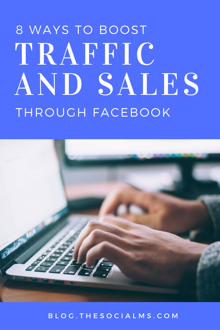 It's become the norm for businesses to have Facebook pages, but do they really help a business's bottom line? Here are 8 ways to achieve ROI on Facebook! Facebook marketing, Sales through Facebook, Facebook tips