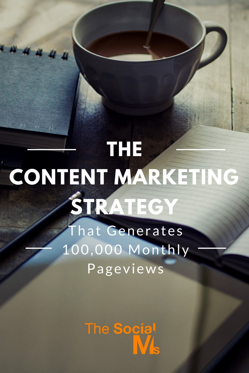 A case study on how to use a content marketing strategy to generate 100k monthly pageviews. Learn how to get your great content in front of an audience.